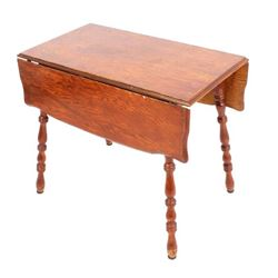 Antique Drop-Leaf Farm Table