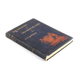 Discovery of Yellowstone First Edition 1905