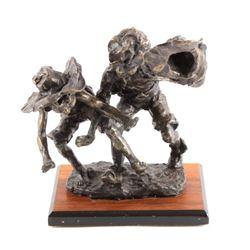 Original Gary Schildt Brinze Sculpture