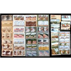 Yellowstone Park Stereoview & Postcard Collection