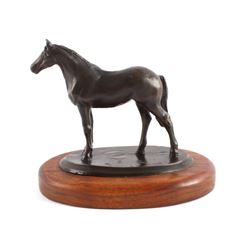 Original Ace Powell Bronze Horse Sculpture