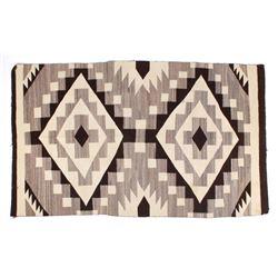 Large Navajo Borderless Crystal Pattern Wool Rug