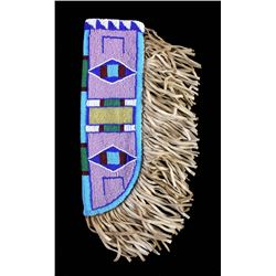 Sioux Fully Beaded Knife Sheath