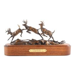 Original Harvey Rattey Bronze Sculpture