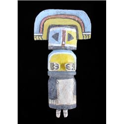 Hopi Cottonwood Polychrome Kachina c. 19th-20th