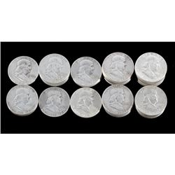 Franklin Silver Half-Dollar Collection x40 Coins