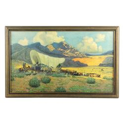 Robert Wesley Amick Framed Print