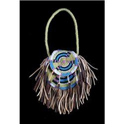 Plains Native American Indian Beaded Bag
