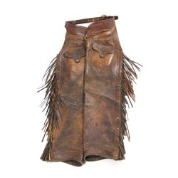George Lawrence Western Leather Chaps