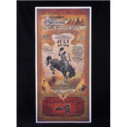 Cheyenne Frontier Days Poster by Bob Coronato