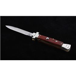 Campolin Maltese Cross Italian Switchblade Knife