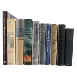 Civil War Related Hardbound Book Collection (10)