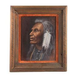 Original Carol Martin Oil on Board Framed Painting