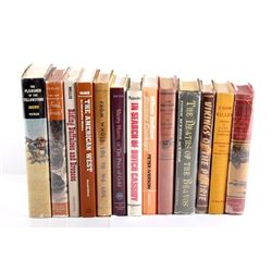 Western Hardback Book Collection