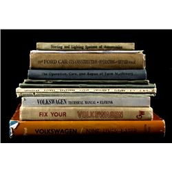 Antique Automobile Books - Ford, Overland, VW...