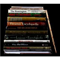 Hardbound Firearm Encyclopedias & References