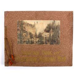 c.1910 Souvenir Book of Yellowstone National Park