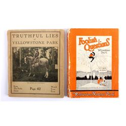 Yellowstone National Park Book Collection