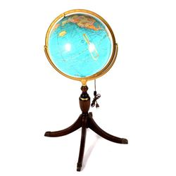 "Cram's 16"" Illuminated Political Terrestrial Globe"