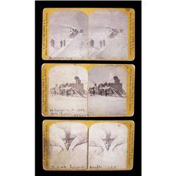 F. Jay Haynes Fargo, Dakota Territory Stereoviews