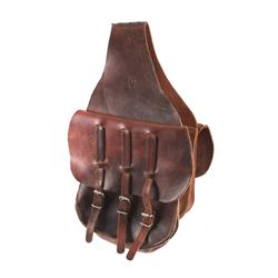 Montana Leather Western Saddlebags