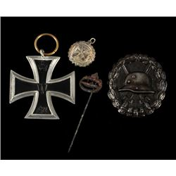 World War One Era Imperial German Wartime Pins