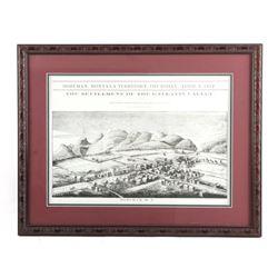Bozeman Montana Territory Framed Print