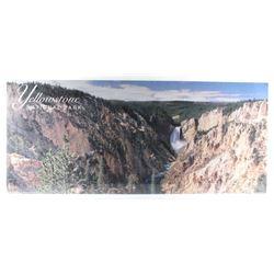 Upper Yellowstone Falls Landscape Lithograph