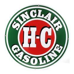 Sinclair H-C Gasoline Petroliana Advertising Sign