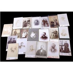 Antique Montana Cabinet Cards