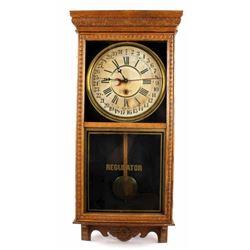 Early Waterbury Reliance Wall Clock c. 1915