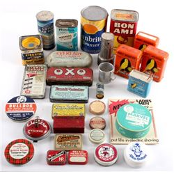 Collection of Vintage Household Products