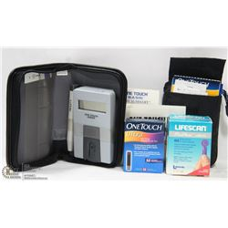 LOT OF 2ONE TOUCH BLOOD GLUCOSE MONITORING SYSTEM