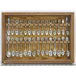 SPOON COLLECTION IN DISPLAY