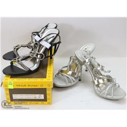 TWO PAIRS OF WOMENS SHOES