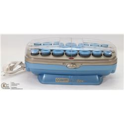 CONAIR ION SHINE HOT ROLLER CURLER SYSTEM