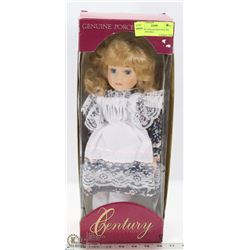 CENTURY COLLECTION GENUINE PORCELAIN DOLL.