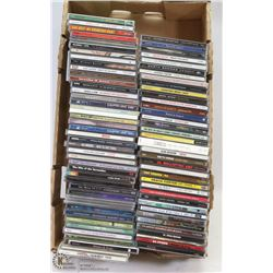 FLAT OF ASSORTED CD'S INCL EAGLES, GARTH BROOKS