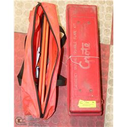 LOT OF ROAD SAFETY SUPPLIES INCL GROTE TRIANGLES