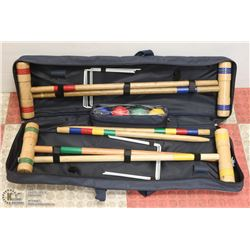 NEW CROQUET SET IN CARRYING BAG