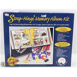 STRAP HINGE MEMORY ALBUM KIT