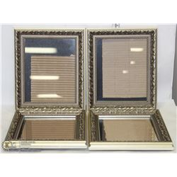 "SET OF 4- 8""X10"" PICTURE FRAMES"