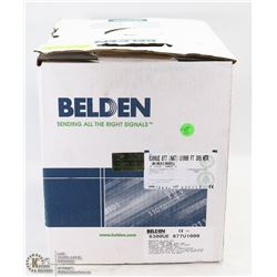 BOX OF 1000FT BELDEN 18/2 SPEAKER WIRE