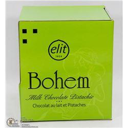 ELIT BOHEM MILK CHOCOLATE PISTACHIO 1000G CASE OF
