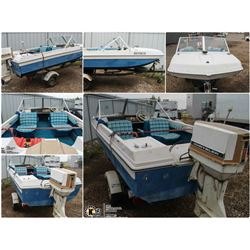 FEATURED UNRESERVED 1977 CHRYSLER BOAT