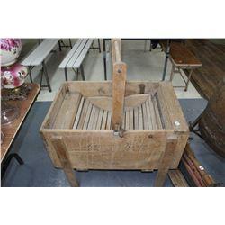Antique Washer