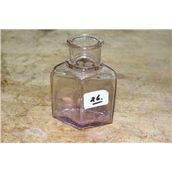 Purple Bottle & Measured Bottle