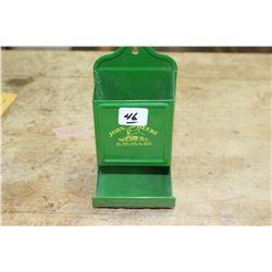 John Deere Match Box Holder