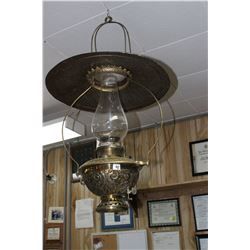 Hanging Brass Store Lamp