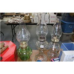 Oil Lamps (3)